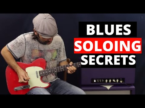 Blues Soloing Secrets - Unlocking The Pentatonic Scale - Guitar Lesson