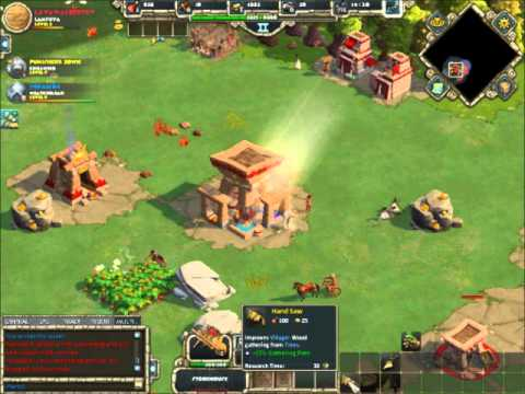 The Game Vault Plays: Age of Empires Online: Lava vs Yokaze