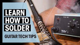 How to Solder Guİtar Electronics | Guitar Tech Tips | Ep. 20 | Thomann