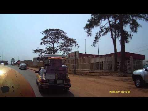 Yaounde a moto d'Oledzoa a Mvan