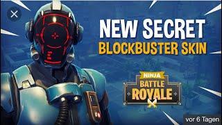 Unlock New Blockbuster Skin !!!| Fortnite Battle Royale| (English)