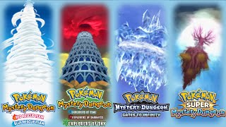 Repeat youtube video Pokemon Mystery Dungeon - All Final Dungeon Themes