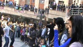 flash mob ayf amity law school noida