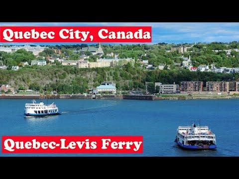 Canada / Quebec: Ferry Quebec-Levis
