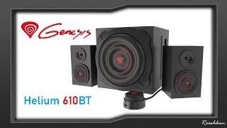 Genesis Helium 610BT - Mocne głośniki dla gracza