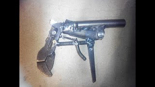 Homemade Guns (toy weapon, from a pair of pliers)