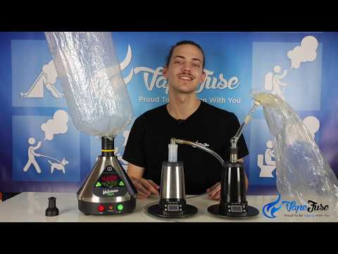 Whip vs Balloon Desktop Vaporizers
