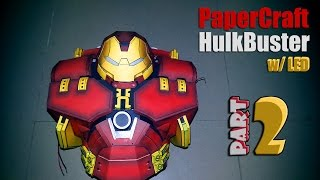 HulkBuster - Papercraft Part 2 (Torso) w/ LED Lights
