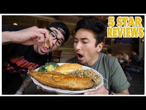 Eating At The BEST Reviewed Southern Restaurant In Louisiana (5 STAR)