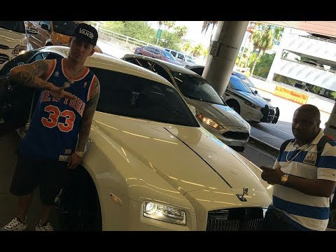 Russian and DjFrass Link Up | Plays Vybz Kartel Song In New Rolls Royce Wraith
