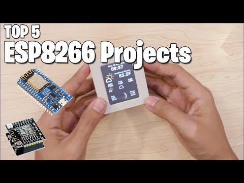 TOP 5 ESP8266 (NodeMCU) PROJECTS - Maker Tutor - YouTube