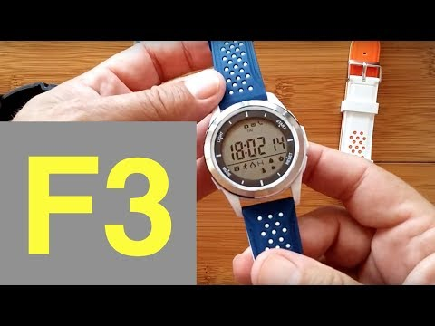 No.1 F3 DIGITAL Smartwatch: Review & FREE Bands!