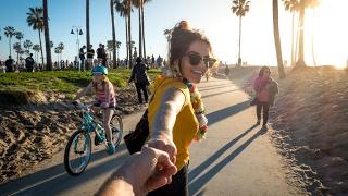 Perfect Day in Venice Beach California