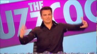 John Barrowman dancing to Mr Blobby - Never mind the Buzzcocks 2011