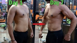 How to Lose Body Fat in 1 Week   4 Easy Exercise