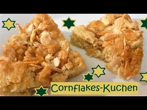 Cornflakes Kuchen Ganz Einfach Und Lecker Was Will Man Mehr Youtube