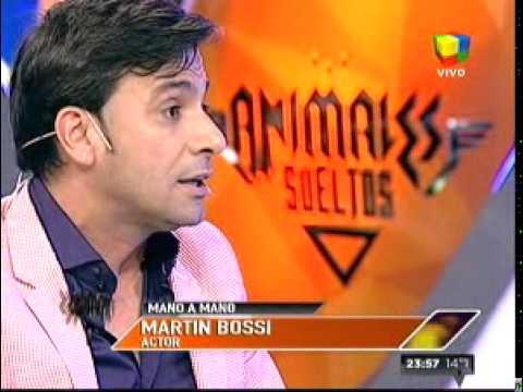 Martín Bossi, íntimo en Animales sueltos