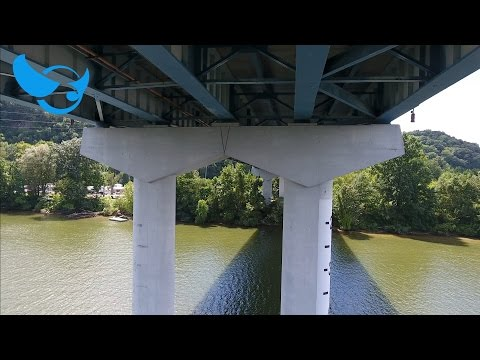 Bridge Inspection Aerial Drone