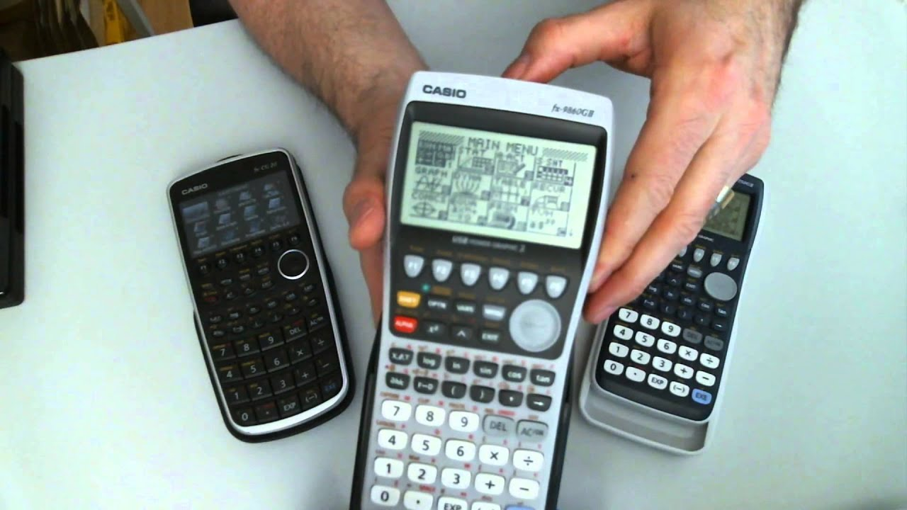 Casio fx CG 20, fx 9860 und fx 9750 werden vorgestellt by Mathefritz Jörg  Christmann
