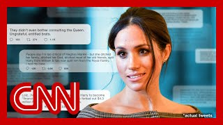 CNN reporter: Meghan Markle's race is why it's always her fault