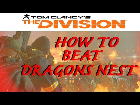 How to beat Dragon's Nest: The Division Underground Incursion. Full Gameplay (1080p HD)