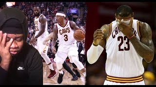 LEBRON HOW COULD YOU ALLOW THIS TO HAPPEN!! CAVS VS RAPTORS HIGHLIGHT REACTION