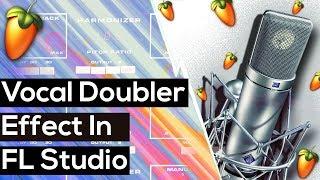 Vocal Doubler Effect On Hip Hop Vocals In FL Studio (No VST Needed!)