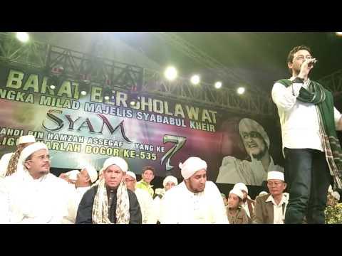 Mostafa Atef Qomarun - Jawa Barat Bersholawat Milad Majlis SYAM Ke-7