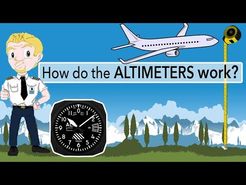 How do the Altimeters work and what is a Flight Level?