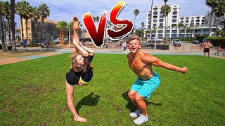 BEST FLIPPER VS BEST DANCER! (who will win)