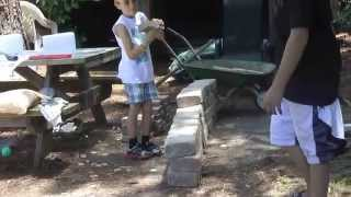Diy Fire Pit - Home Depot Rumble Stone