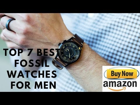 Top 7 Best Fossil Watches For Men Buy In 2019 Amazon