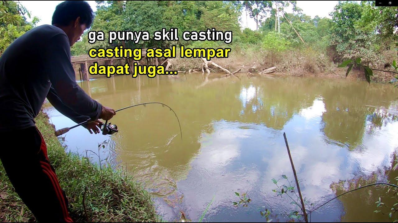 Takut Dikira Udah Males Mancing di Sungai Besar