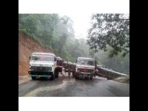Hill side  (Ghat Section ) Oversize ODC Transportation  momemnt