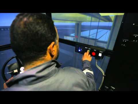 The ANP's port maritime crane Simulator