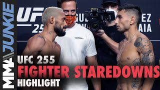 UFC 255: Full card staredowns