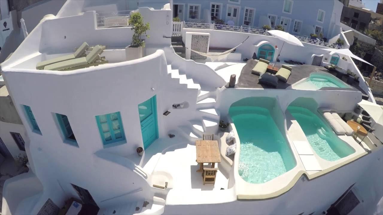 Cave Pool Villas Santorini