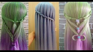Acconciature bellissime e facili capelli lunghi 💁🏼 Beautiful hairstyles and easy long hair