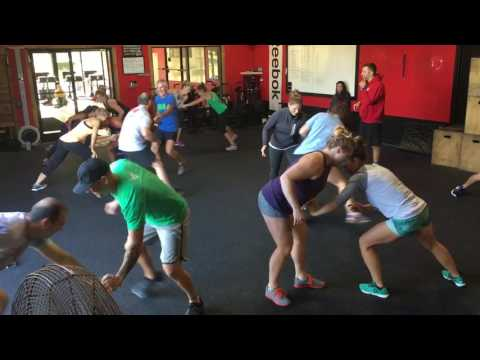 CrossFit Warm Up Games (