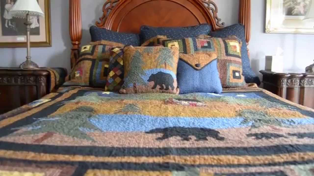 Creating A Traditional Log Cabin Theme Quilt With Log Cabin Border
