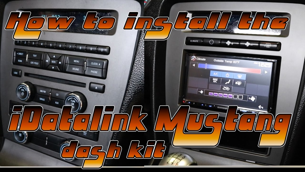 How to install the iDataLink Mustang kit Maestro Mustang Wiring Diagram on