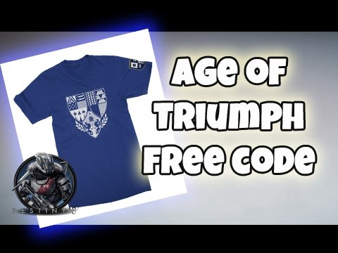 destiny - age of triumph rank 7 / free t-shirt code giveaway - youtube