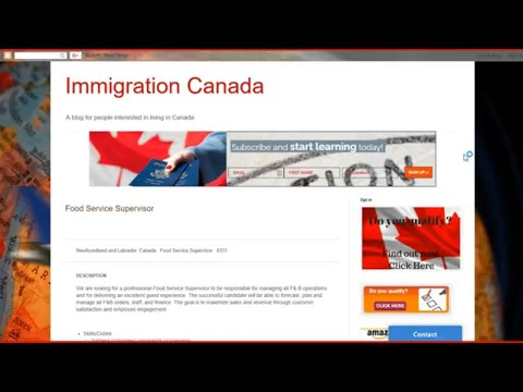 Recommended tools in Nexus Canada Blog