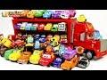 Learning Color Disney Cars Lightning McQueen mack truck Play for kids car toys