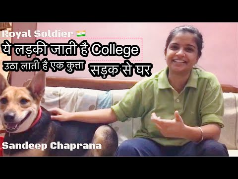 Street Dog Owners Ko Salaam. Respect. Real Story of DU Girl who adopted 2 innocent injured Dog pupps