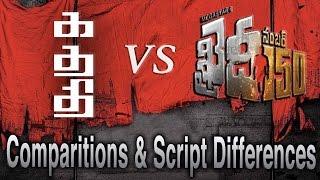 Kathi vs Khaidi No 150 Comparisons