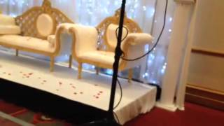 Somali wedding decoration
