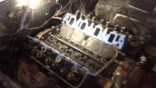 390 FE Motor no intake Jerry's 1964 Ford Galaxie 500 - Day 4
