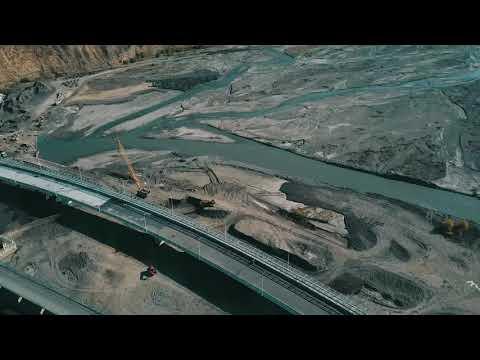 Строительство моста через