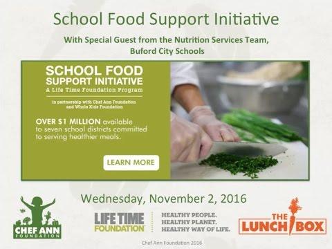 School Food Support Initiative Webinar